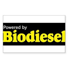Powered by Biodiesel Decal
