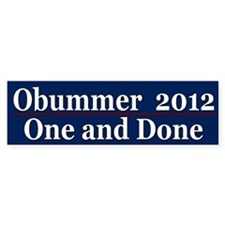 election 2012 Bumper Sticker