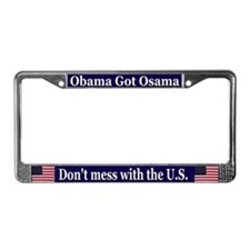 election 2012 License Plate Frame
