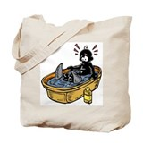Cute Bathwater Tote Bag
