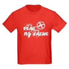 Geocaching NO FEAR Grunge T