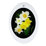 Daffodils Ornament (Oval)