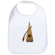Psaltery and Bow Bib