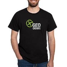 Geocaching Green Grunge T-Shirt