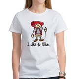 I Like To Hike Girl (Red) Tee