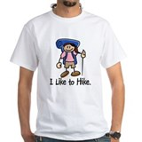 I Like To Hike Girl (Blue) Shirt