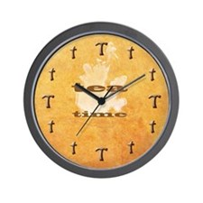 """T"" Time Wall Clock"