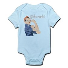 Girls Rock! (vintage) Infant Bodysuit