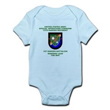 1st Ranger Battalion Flash Infant Bodysuit
