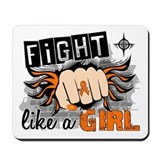 Fight Like A Girl Multiple Sclerosis Mousepad