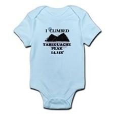 I Climbed TABEGUACHE PEAK Infant Bodysuit