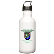 3rd Ranger Battalion Flash Water Bottle