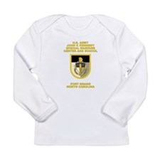 Special Warfare Center Long Sleeve Infant T-Shirt