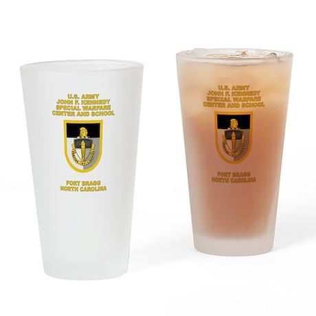 Special Warfare Center Pint Glass