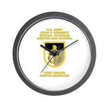 Special Warfare Center Wall Clock