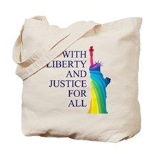 RAINBOW LIBERTY Tote Bag