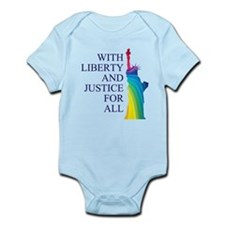 RAINBOW LIBERTY Infant Bodysuit