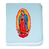 Virgin of Guadalupe baby blanket