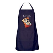 Sush Addict Apron (dark)