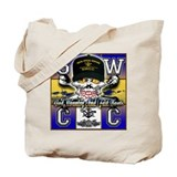 USN SWCC Skull &amp; Bones Tote Bag