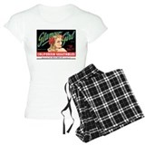 Glamour Girl Vintage Label pajamas