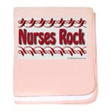 Cute Nurses baby blanket