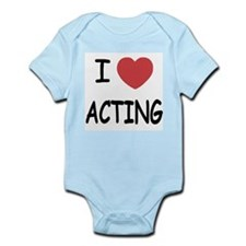 I heart acting Infant Bodysuit