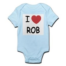 I heart rob Infant Bodysuit