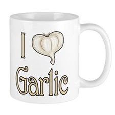 I heart garlic Mug