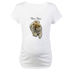 Chow Chow Dog Maternity T-Shirt