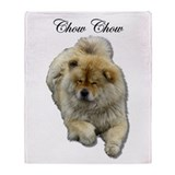 Chow Chow Dog Throw Blanket