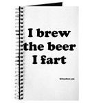 I brew the beer I fart Journal