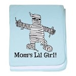 The Mummy's Girl baby blanket
