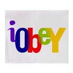 Obey The Throw Blanket
