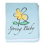 The Spring Baby baby blanket