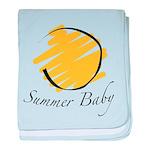 The Summer Baby baby blanket