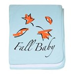 The Fall Baby baby blanket