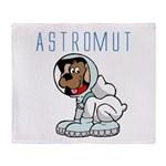 Astromut Sr.'s Throw Blanket