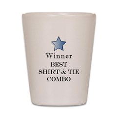 The Snappy Dresser Award - Shot Glass