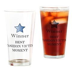 The Fashion Victim Award - Pint Glass