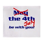 Get 'the Force' Throw Blanket