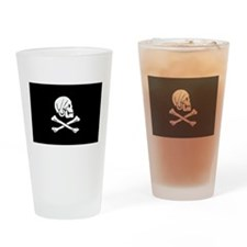 Henry Every's Pirate Flag Pint Glass