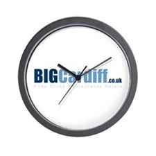 BIGCardiff.co.uk Wall Clock