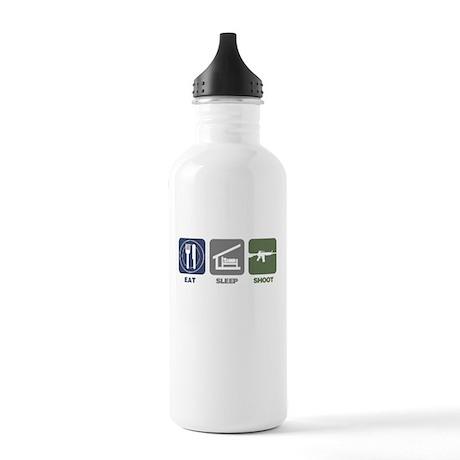 Eat Sleep Shoot Stainless Water Bottle 1.0L