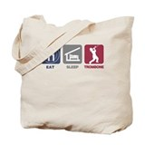 Eat Sleep Trombone Tote Bag