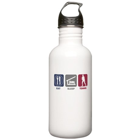 Eat Sleep Tennis - Man Stainless Water Bottle 1.0L