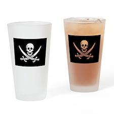 Calico Jack's Pirate Flag Pint Glass
