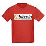 Bitcoins-7 Kids Dark T-Shirt