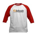 Bitcoins-7 Kids Baseball Jersey