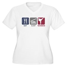 Eat Sleep Womens Tae Kwon Do T-Shirt